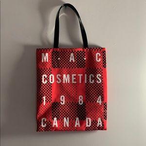 MAC Cosmetics Pink and Black Canada 1984 Tote Bag